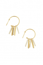 Mimi et Toi |  18k gold plated earrings Fauve | gold  | Picture 1