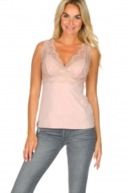Rosemunde |  Top with lace Lynn | nude  | Picture 2