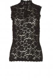 Rosemunde | Kanten top Olivia | zwart:Lace top Olivia | black  | Picture 1