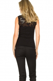 Rosemunde | Kanten top Olivia | zwart:Lace top Olivia | black  | Picture 4