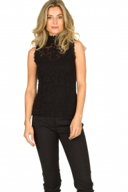 Rosemunde | Kanten top Olivia | zwart:Lace top Olivia | black  | Picture 2