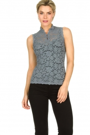 Rosemunde | Lace top Olivia | blue  | Picture 2
