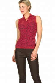 Rosemunde | Lace top Olivia | pink  | Picture 2