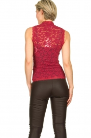 Rosemunde | Lace top Olivia | pink  | Picture 4