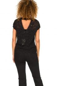 Rosemunde |  Lace top with low back Lieve | black  | Picture 5