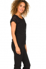 Rosemunde |  Lace top with low back Lieve | black  | Picture 4