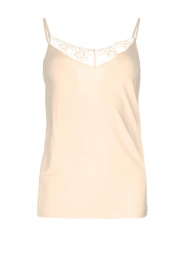 Rosemunde |  Top with lace Lotus | natural  | Picture 1