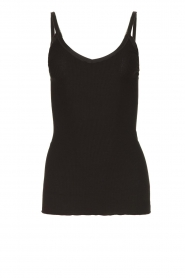 Rosemunde | Silk top Lotta | black  | Picture 1