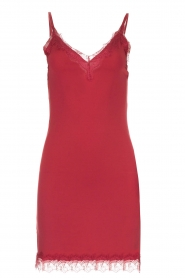 Rosemunde |  Slip dress Billie | raspberry red  | Picture 1