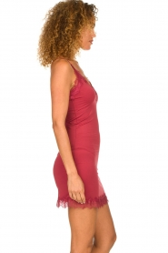 Rosemunde |  Slip dress Billie | raspberry red  | Picture 3