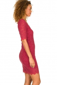 Rosemunde |  Lace dress Louize | raspberry red  | Picture 3