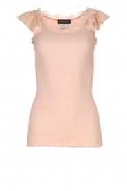 Rosemunde | Silk top Roosmarijn | pink  | Picture 1