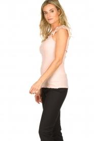 Rosemunde | Silk top Roosmarijn | pink  | Picture 3