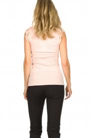 Rosemunde | Silk top Roosmarijn | pink  | Picture 4