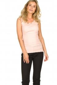 Rosemunde | Silk top Roosmarijn | pink  | Picture 2