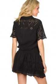 Freebird |  Dress with cut-out details Jip | black  | Picture 5