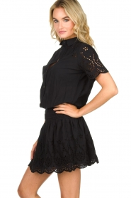 Freebird |  Dress with cut-out details Jip | black  | Picture 4