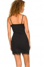 Rosemunde |  Slip dress Billie | black  | Picture 4