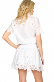 Freebird |  Dress with cut-out details Jip | white  | Picture 3