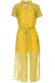 Freebird |  Floral maxi dress Harper | yellow  | Picture 1