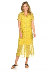 Freebird |  Floral maxi dress Harper | yellow  | Picture 2