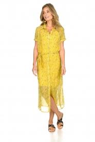 Freebird |  Floral maxi dress Harper | yellow  | Picture 3