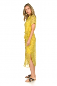 Freebird |  Floral maxi dress Harper | yellow  | Picture 4
