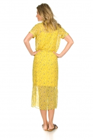 Freebird |  Floral maxi dress Harper | yellow  | Picture 5