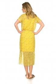 Freebird |  Floral maxi dress Harper | yellow  | Picture 5