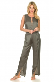 Rabens Saloner | Pants Gunhild | blue   | Picture 3
