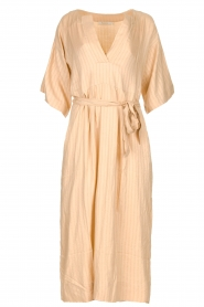 Rabens Saloner |  Maxi dress Eris | nude  | Picture 1