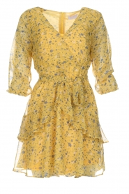 Freebird |  Floral dress Lola Flower | yellow  | Picture 1