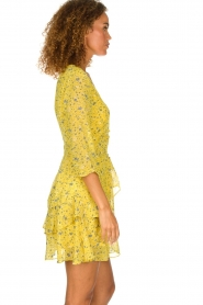 Freebird |  Floral dress Lola Flower | yellow  | Picture 4