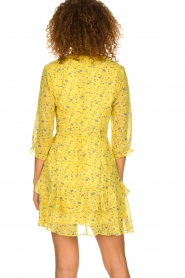 Freebird |  Floral dress Lola Flower | yellow  | Picture 5