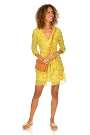 Freebird |  Floral dress Lola Flower | yellow  | Picture 3