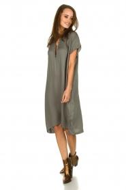 Rabens Saloner | Dress Gorgina | blue   | Picture 3