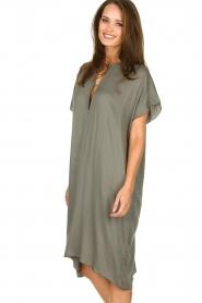 Rabens Saloner | Dress Gorgina | blue   | Picture 4