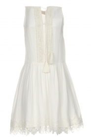 Freebird |  Dress with lace details Maza | white  | Picture 1