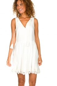 Freebird |  Dress with lace details Maza | white  | Picture 2
