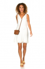Freebird |  Dress with lace details Maza | white  | Picture 3