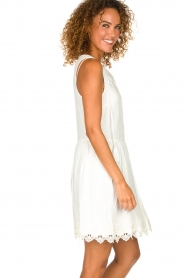 Freebird |  Dress with lace details Maza | white  | Picture 4