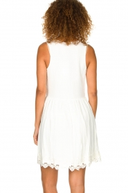 Freebird |  Dress with lace details Maza | white  | Picture 5