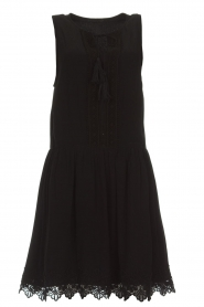 Freebird |  Dress with lace details Maza | black  | Picture 1