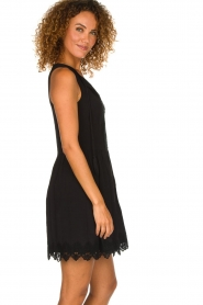 Freebird |  Dress with lace details Maza | black  | Picture 4