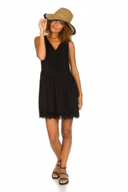 Freebird |  Dress with lace details Maza | black  | Picture 3