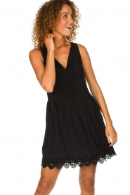 Freebird |  Dress with lace details Maza | black  | Picture 2