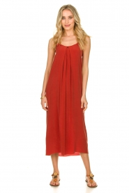 Rabens Saloner |  Maxi dress Brianna | red  | Picture 7