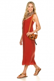 Rabens Saloner |  Maxi dress Brianna | red  | Picture 4