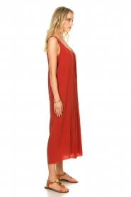 Rabens Saloner |  Maxi dress Brianna | red  | Picture 5