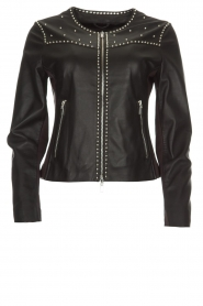 Arma |  Studio Ar leather jacket Chendra | black  | Picture 1